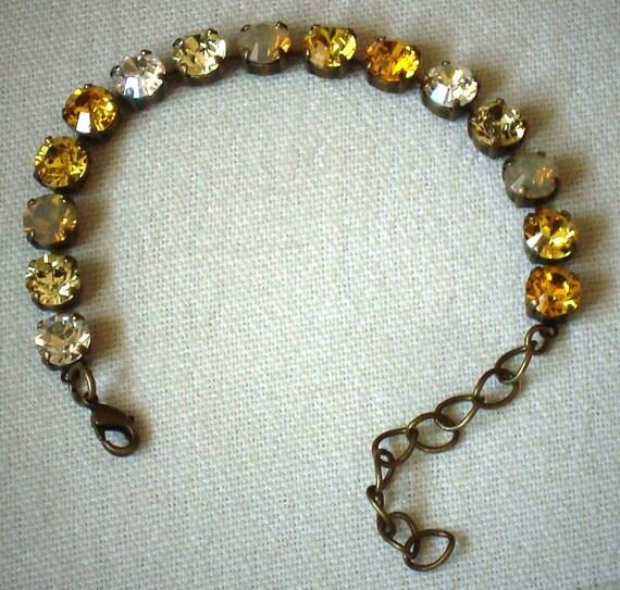 swarovski crystal tennis style bracelet 8mm by. Black Bedroom Furniture Sets. Home Design Ideas