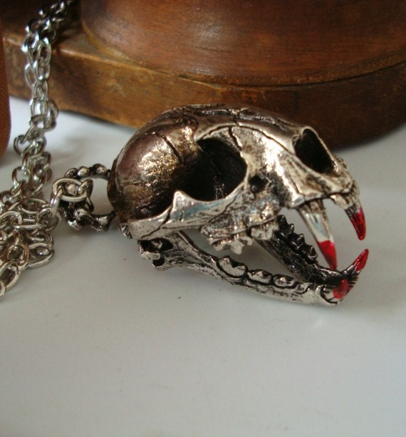 Items Similar To Steampunk Gothic Tasty Love Necklace