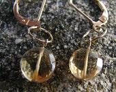 for Tina--Symmetrical Citrine Earrings