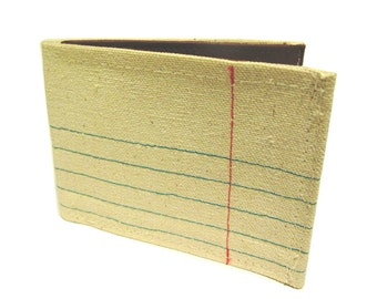 Recycled Paper ) Bifold Wallet