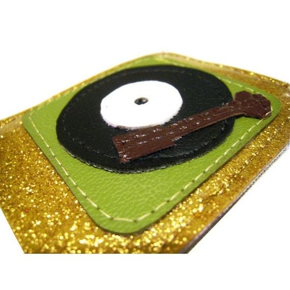 iPod NANO Case ) Turntablism ) Gold