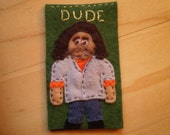 Custom Order Hurley Bookmark