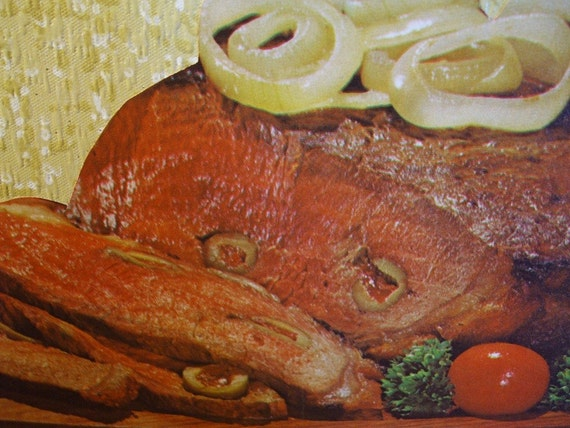 The Distasteful Gourmet - Steak Madrid Card - OOAK