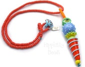 Watcher Series Colorful Lampwork Necklace