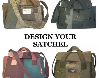 Sir Franklin Satchel - Made To Order - Your choice of colors