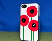Phone Case - Poppies - Hard Case for iPhone 4, 4s, 5, 5s, 5c, 6, 6 Plus - iPod Touch 4, 5 - Galaxy S3, S4, S5