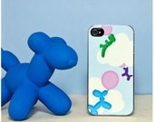 Phone Case - Balloon Animals - Hard Case for iPhone 4, 4s, 5, 5s, 5c, 6, 6 Plus - iPod Touch 4, 5 - Galaxy S3, S4, S5