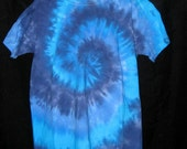 Am I Blue Tye Dye Youth Tshirt  M