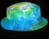 By the Sea Tye Dye Gilligans Island Bucket Hat Youth Large
