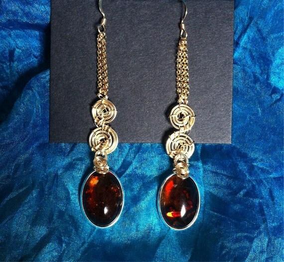 Brisingamen earrings