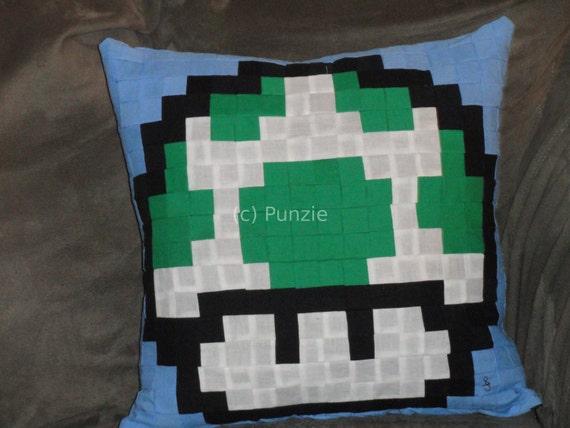 Super Mario Bros 1-up pillow