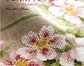 CROSS STITCH FLOWERS - Japanese Craft Book
