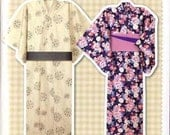 Easy Yukata Full-Size Pattern Sheet for Man and Woman