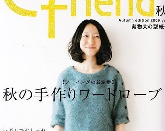 Out of Print COTTON FRIEND 2009 FALL - Japanese Craft Book