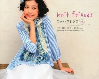KNIT FRIENDS VOL 2 - Japanese Craft Book