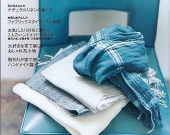 Out of Print / Craft CAFE LINEN and COTTON Part 3 - Japanese Craft Book