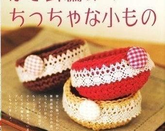 SMALL ZAKKA of CROCHET - Japanese Craft Book