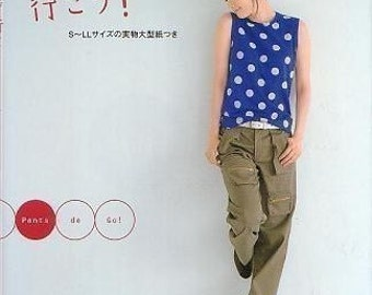 PANTS DE GO - Japanese Dress Pattern Book
