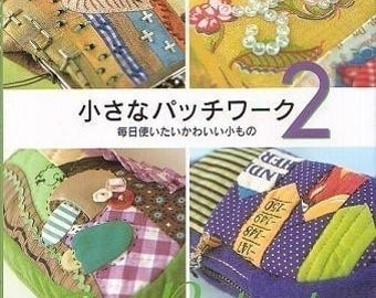 TINY PATCHWORKS VOL 2 - Japanese Craft Book