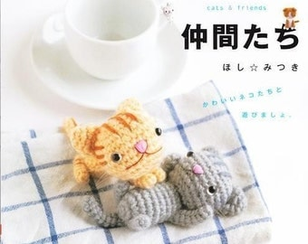 AMIGURUMI CATS And FRIENDS - Japanese Craft Book