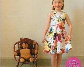 SIMPLE PLUS ONE Children Clothes Patterns by Kurai Muki - Japanese Book