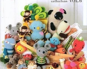 AMIGURUMI CROCHET COLLECTION Vol 6 - Japanese Craft Book