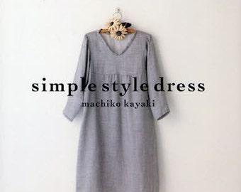 SIMPLE STYLE DRESS - Japanese Craft Book