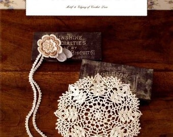 MOTIF and EDGING of CROCHET Lace - Japanese Craft Book