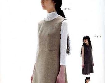 M126 Adult SLEEVELESS DRESS M Pattern - Japanese M Pattern
