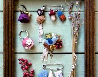 Needle Felt SMALL ACCESSORIES - Japanese Craft Book