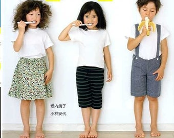 31 Kids Clothes from 5 Patterns - Japanese Craft Book