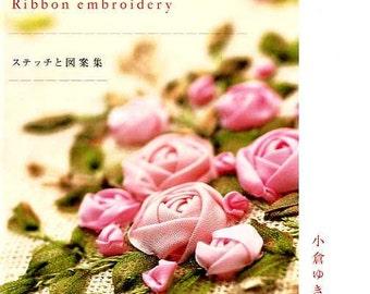 Ribbon Embroidery by Yukiko Ogura - Japanese Craft Book