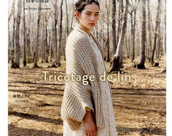 TRICOTAGE DE LIN Handknit and Crochet Vol 2- Japanese Book