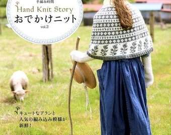 Hand Knit Story Vol 2 - Japanese Craft Book