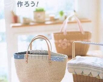 NATURAL BASKETS & BAGS - Japanese Craft Book