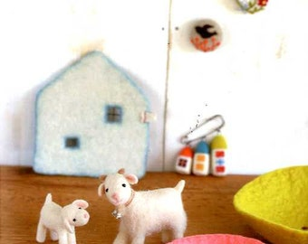 Easy Techniques of Wool Felt - Japanese Craft Book