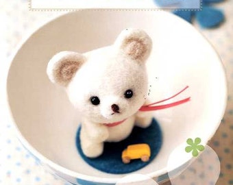Needle Felting Kawaii Animals - Japanese Craft Book MM