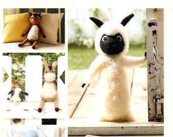 Needle Felting Forest Animals - Japanese Craft Book