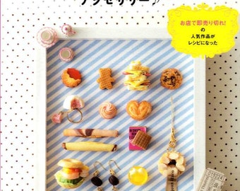 Kawaii Clay Sweets Accessories - Japanese Craft Book