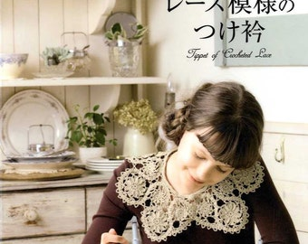 Tippet of Crochet Lace - japanese craft book