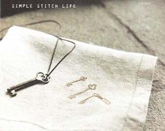 SIMPLE STITCH LIFE - Japanese Craft Book