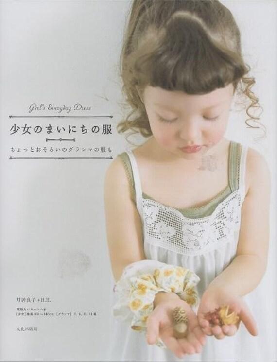 GIRLS EVERYDAY DRESS - Japanese Craft Book