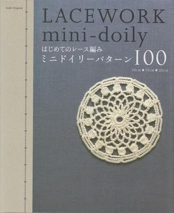 LACE Work MINI DOILY 100 - Japanese Craft Book