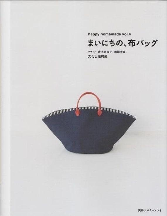 HAPPY HOMEMADE BAG Vol 4 - Japanese Craft Book