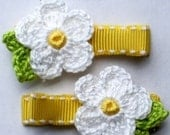 Lady Daisy Handmade Alligator Hair Clips Fits Gymboree