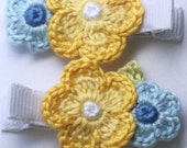 First Bloom Handmade Alligator Hair Clips Made To Match Janie and Jack