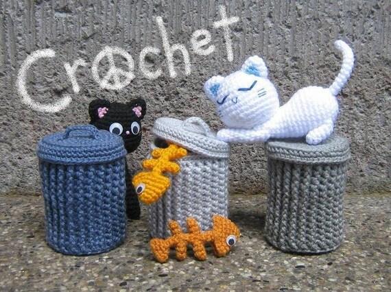 Alley Cats - PDF Crochet Pattern