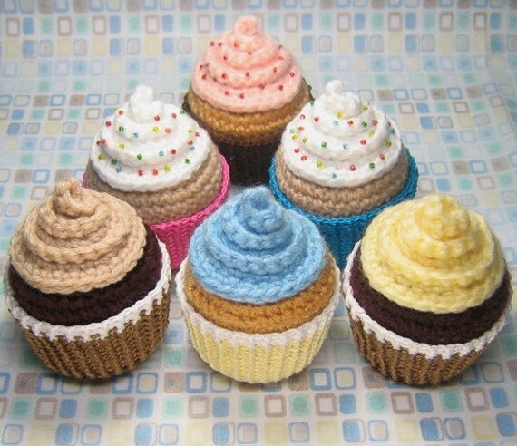 Cupcake - Amigurumi Pattern - PDF - Crochet