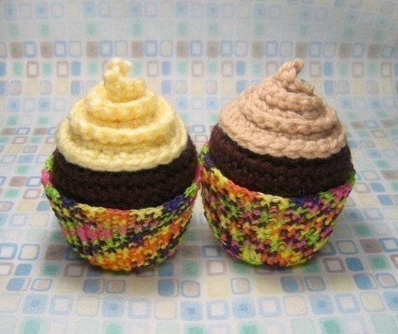 Free Amigurumi Crochet Patterns Cupcake : Cupcake Amigurumi Pattern PDF Crochet