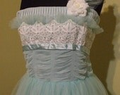 50's Style Tulle Gown